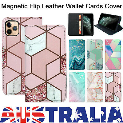 AU9.98 • Buy Magnetic Flip Leather Wallet Stand Card Case Cover For Iphone 7 X XR 11 PRO MAX