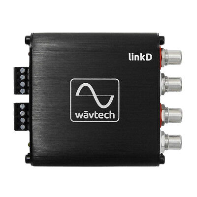 WavTech LinkD 2 Channel Line Output Driver Converter LOC Hi To Low Auto Turn On • 59.90£