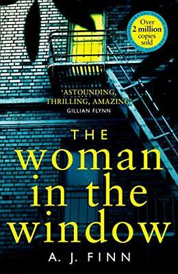 AU10.69 • Buy The Woman In The Window By Finn, A. J. 0008234183 The Cheap Fast Free Post
