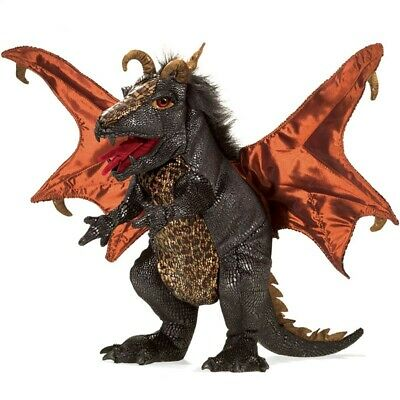 £58.38 • Buy BLACK DRAGON PUPPET # 3069 ~ In USA ~ Folkmanis Puppets
