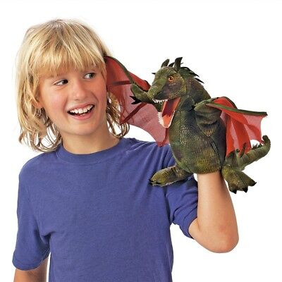 £24.49 • Buy WINGED DRAGON PUPPET #3051 USA ~ Folkmanis Puppets