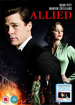 AU5.44 • Buy Allied (dvd+itunes) Dvd New