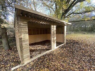 16x12 Field Shelter Horse Shelter Alpaca Sheep Mobile Shelter  • 1,250£