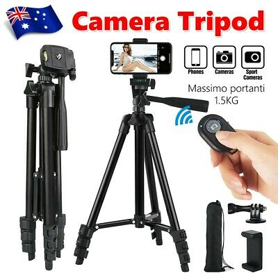 AU18.95 • Buy Professional Camera Tripod Stand For Digital Camera DSLR Camcorder Video Monopod