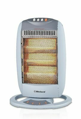 £50 • Buy Belaco 1200W Halogen Heater With 3 Heat Settings High Quality Resistant Base