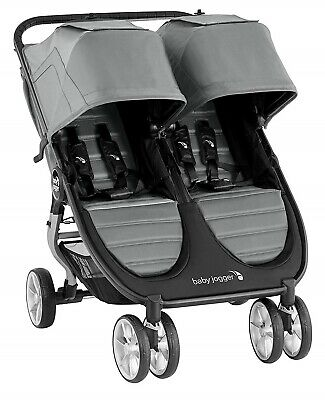 Baby Jogger City Mini 2 Twin Baby Double Stroller Slate NEW 2020 • 325.61£