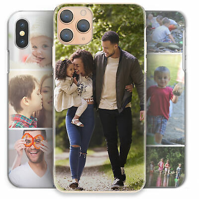 Personalised Phone Case, Hard Cover For Apple/Sony/Samsung-Customise With Photo • 8.99£