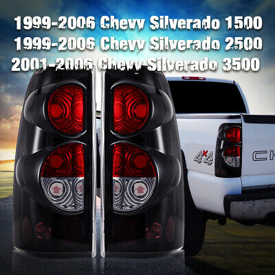 $49.53 • Buy Tail Lights For 99-06 CHEVY Silverado 99-02 GMC Sierra Replacement Assembly Pair
