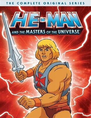 $42.94 • Buy HE-MAN MASTERS OF THE UNIVERSE COMPLETE ORIGINAL SERIES DVD + Movie + Christmas