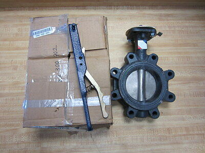 AU1054 • Buy Nibco LD-3122-3 Butterfly Valve Lug Style 4 Inch Lever Lock 250 PSI LD31223