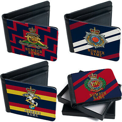 Personalised Military Wallet Bi Fold Coin Card Holder Veteran Official Product  • 14.95£