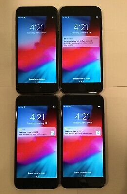 $ CDN309.76 • Buy LOT OF 4 TESTED SPACE GRAY GSM UNLOCKED GLOBAL APPLE IPhone 6, 16GB PHONES Q60T
