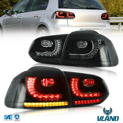 AU370 • Buy For 2009-2014 Volkswagen VW Golf6 MK6 VI GTI R LED Tail Lights With Sequential