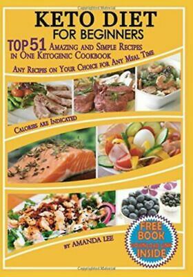 $6.58 • Buy Keto Diet Recipes Beginners Ketogenic Cookbook Weight Loss Low Carb Food Dieting