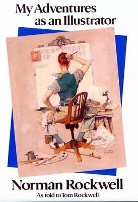 $ CDN5.64 • Buy My Adventures As An Illustrator  Norman Rockwell