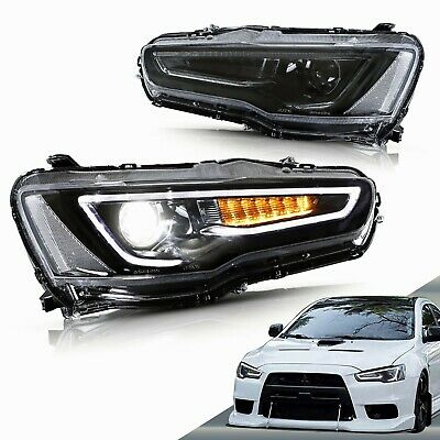 AU569.99 • Buy VLAND LED Headlights For [Mitsubishi Lancer EVO X] 2008-2017 With Sequential
