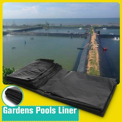 33ft HDPE Fish Pool Pond Liner Membrane Reinforced Gardens Pools Landscaping • 13.99£