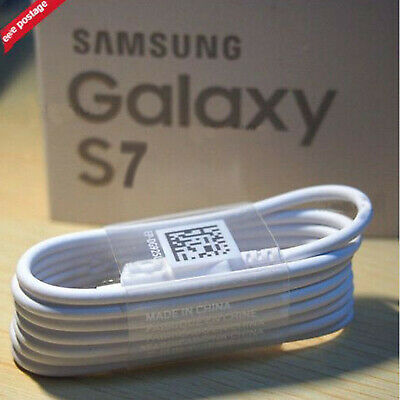 Genuine Samsung Galaxy S6 S7 Edge S5 Note 5 4 3 Fast USB Charger Data Lead Cable • 3.45£