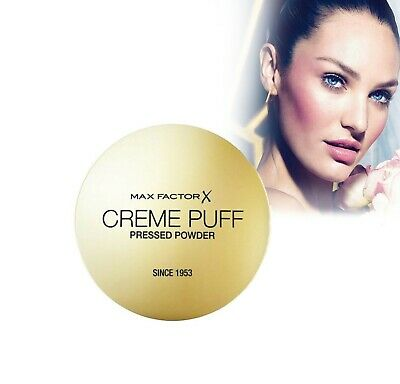 Max Factor Creme Puff 2in1 Face Compact Pressed Powder Foundation 21g • 5.89£