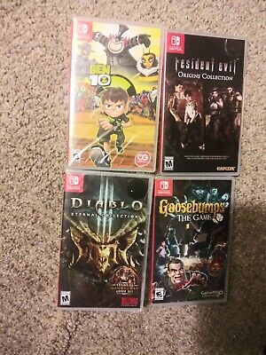 $51 • Buy Nintendo Switch Games Lot 4 Games All New In Plastic
