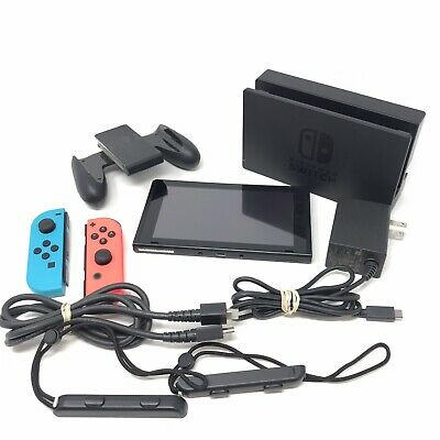 $249.99 • Buy Nintendo Switch 32GB Video Game Console Bundle With Blue & Red Joy-Cons