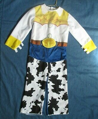 £13.06 • Buy Jessie Toy Story Cowgirl Costume Size 4-6x Jumpsuit Western