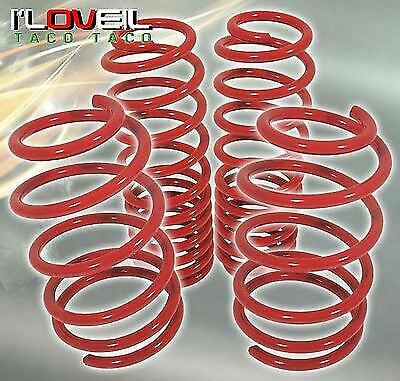 $104.99 • Buy Red Coil Drop Racing Suspension Lowering Springs Set For 2005-2014 Ford Mustang
