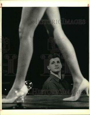 $16.88 • Buy 1986 Press Photo Publicist Roger Neal Judges Miss Texas USA Swimsuit Competition