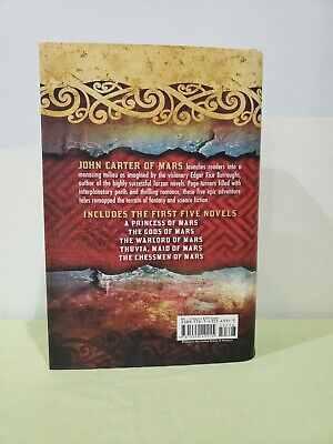$7.99 • Buy John Carter Of Mars: The First Five Novels, By Edgar Rice Burroughs (Hardcover)