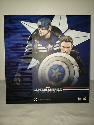 $255 • Buy Hot Toys MMS 243: Captain America And Steve Rogers 1:6 Scale Figure