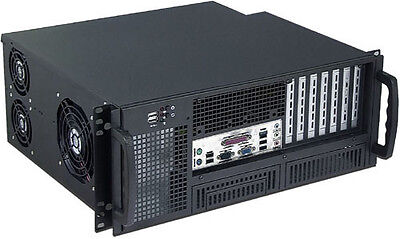 £119.95 • Buy 4U (Front Access) (24  Rail)(2x5.25 + 6x3.5 Bay)(Rackmount Chassis)(14  Case)NEW