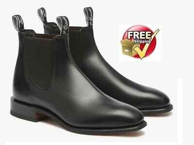 AU480 • Buy NEW RM Williams Craftsman Boot Black For Mens Choose Size