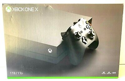 $199.99 • Buy Xbox One X (No Video Black Screen Of Death) FOR PARTS Or REPAIR W/ Box + Cord