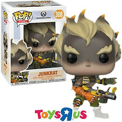 AU24.90 • Buy Funko Overwatch - Junkrat Pop! Vinyl Figure