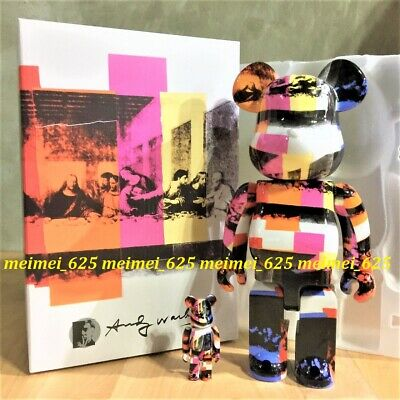 $298.88 • Buy Bearbrick Medicom 2020 Andy Warhol ~ The Last Supper 100% 400% Be@rbrick