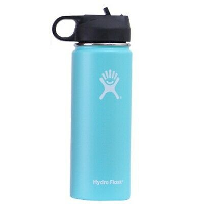 $30 • Buy Hydro Flask 40oz Light Green Stainless Steel Wide Mouth Lid