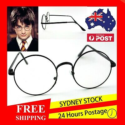 AU6.99 • Buy Harry Potter Glasses With Lens - Kids Cosplay Dress Up Costume - Children's Book
