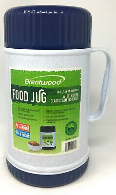AU48.27 • Buy Brentwood Thermos Food Container Insulated Flask Jar Hot Cold With Handle
