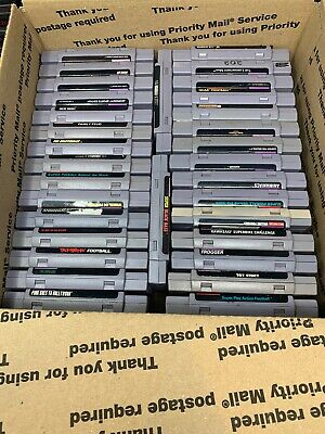 $ CDN1.30 • Buy SNES Super Nintendo Lot Of 32- Trigger, Toy STORY And More! Ships Priority