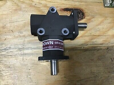 """$235 • Buy New Crown Gear Drives Zero-max C154-806 Mc Right Angle 1/2"""" Two Way"""