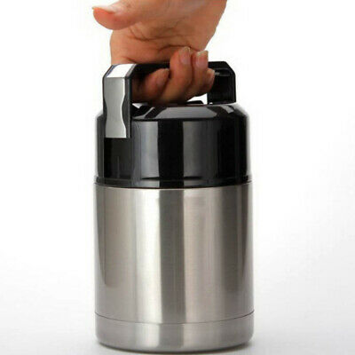 AU34.19 • Buy Stainless Steel Thermos For Hot Food Lunch Container 800 - 1000 Ml Vacuum Flask