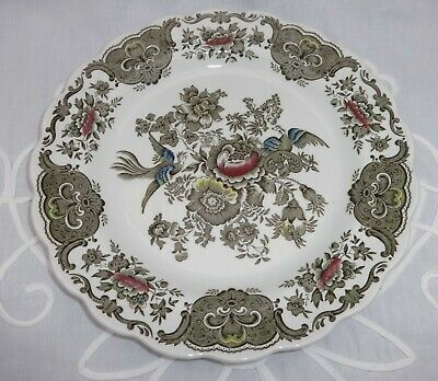 Ridgway Staffordshire Pottery Hand Engraved Large Plate Windsor Design 1950's • 4.99£