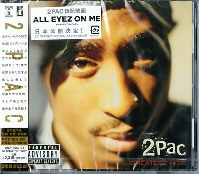 2pac-2pac Greatest Hits-japan 2 Cd F08 • 21.22£