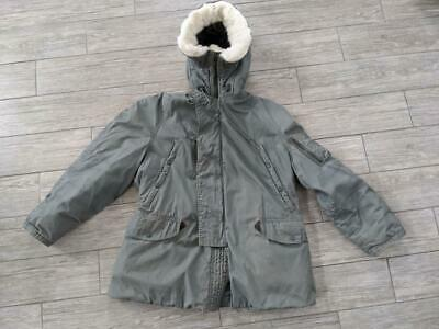 $ CDN173.90 • Buy Vintage N-3B Army SNORKLE Parka Cold Weather LARGE Military PROPPER Sateen
