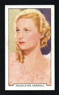 $ CDN2.12 • Buy Madeline Carroll 1935 Gallaher Portraits Of Famous Stars #34 Exmint Nice Corners