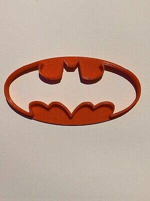 Batman V.1 - Comic Cookie Cutters, Biscuit, Pastry, Fondant Cutters 3D Printed • 2.50£