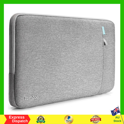 AU38.99 • Buy Tomtoc 360° Protective Laptop Sleeve Case Bag For New MacBook Air Pro 13  Grey