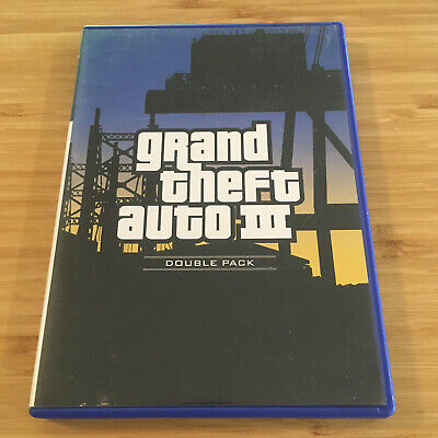 AU14.95 • Buy Grand Theft Auto III (3) + Map | PlayStation 2 PS2 Game | Aus Seller | Free Post