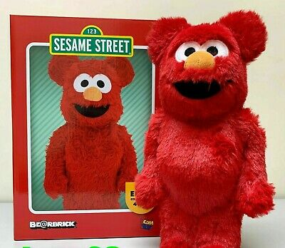 $257.39 • Buy Medicom Toy BE@RBRICK ELMO Costume Ver.400% Bearbrick SESAME STREET
