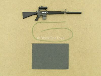 $21.60 • Buy 1/12 Scale Toy - Marine Force Recon - M16 Rifle W/Suppressor & Sling